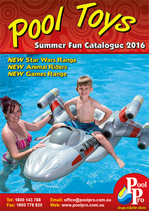 Pool Pro Toy Catalogue 2016